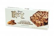 Turrón de Chocolate y Almendras 250g.