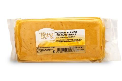 Turrón Artesano Blando 500g.
