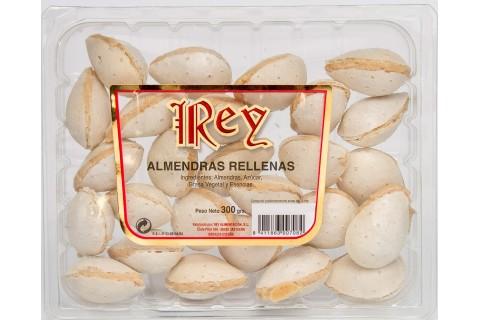 Bandeja Almendras rellenas de almendra 300 gr